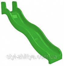 Горка стеклопластиковая KIDIGO Волна H 1,5 м (01214)