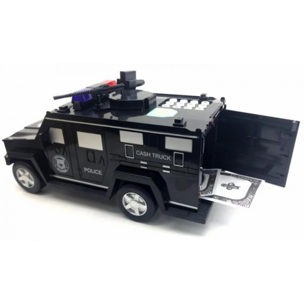 Інтерактивна електронна скарбничка-сейф з кодовим замком машинка Hummer Cach Truck
