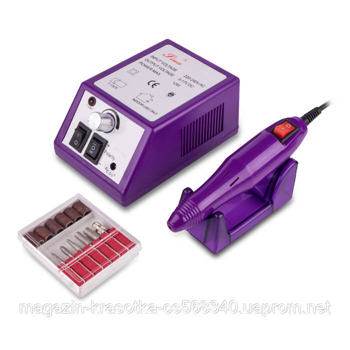 Фрезер Lina-2000, 10-12 Вт, 20 000 оборотов, фиолетовый