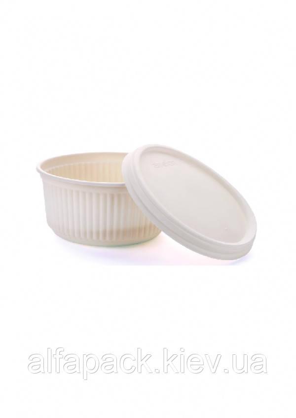 Салатник біорозкладаний 280 мл, упаковка 200шт, (3,94 грн/шт)