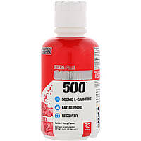 EVLution Nutrition, Carnitine500, ягоды, 16 унц. (465 мл)