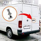Болт / Палець фіксації замку задніх дверей Volkswagen LT, номер OEM А 0007430015, фото 2