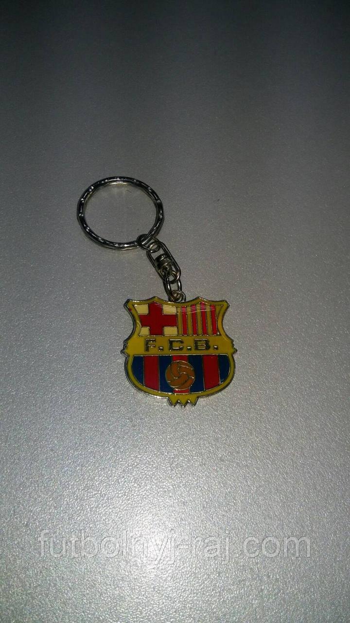 Брелок металлический FC Барселона