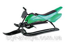 Снігохід «Спорт Люкс» green Kidigo