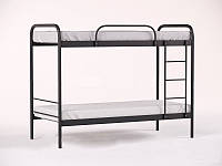 Двухъярусная металлическая кровать Relax Duo-1 (Релакс Дуо-1) 80х190см Метакам