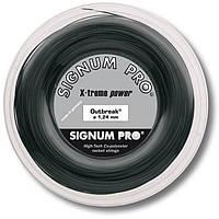 Струни тенісні Signum Pro Outbreak 200 м Чорні (5253)