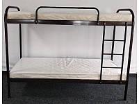 Двухъярусная металлическая кровать Relax Duo (Релакс Дуо) 80х190см Метакам