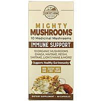 Country Farms, Super Shrooms, Organic Mushrooms, Medicinal Superfood, 60 Capsules