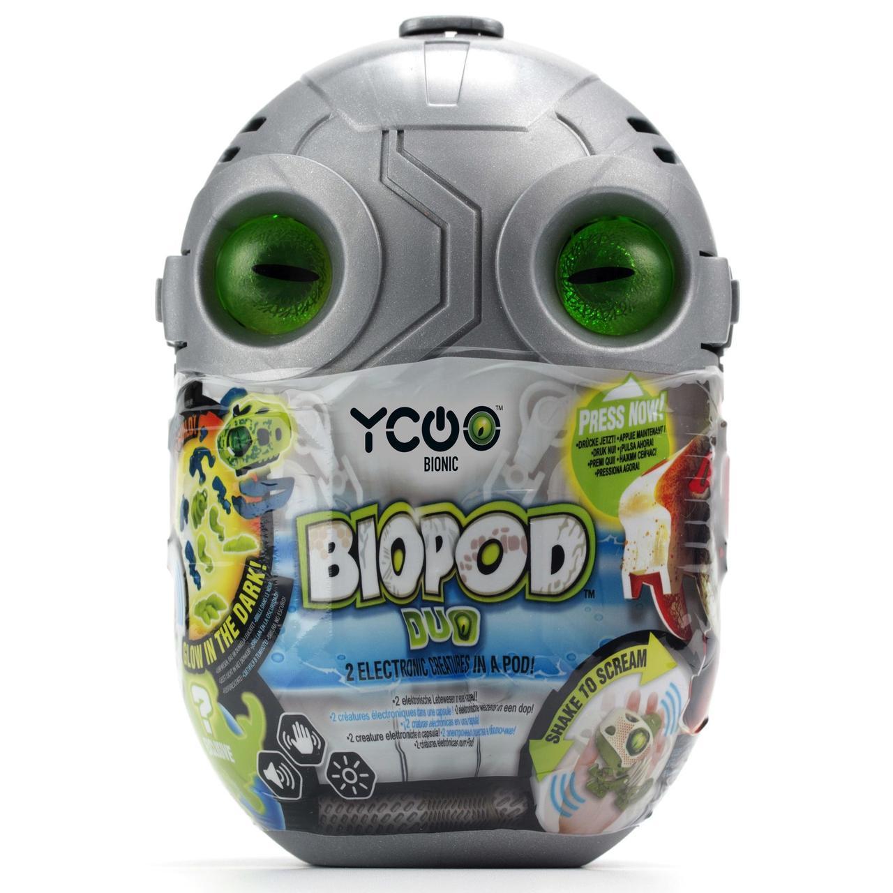 Игрушка-сюрприз Silverlit Робозавр Biopod Duo два в наборе (88082)