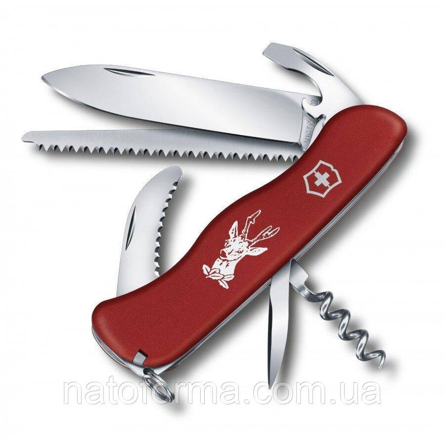 Нож Victorinox Hunter красный