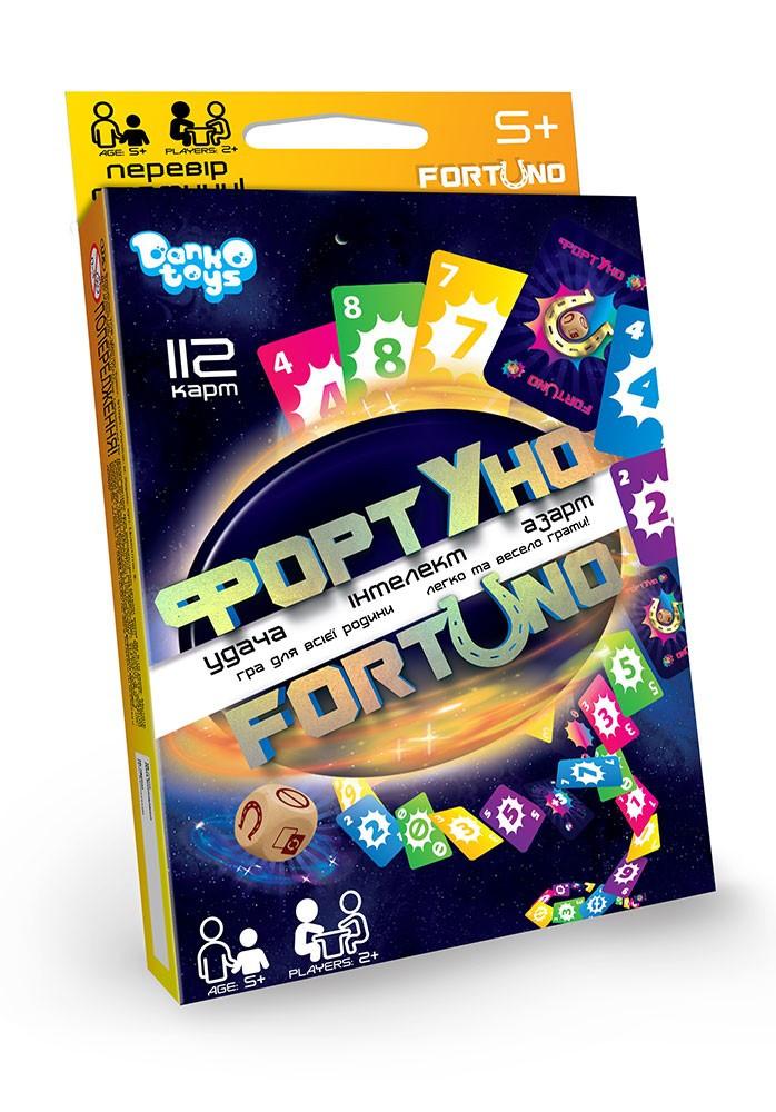 """Настольная игра для всей семьи """"ФортУно-Fortuno"""", Danko Toys"""