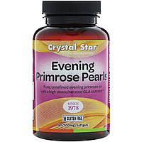 Crystal Star, Evening Primrose Pearls, 500 mg , 90 Softgels