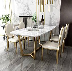 Обеденный стол Nordic Marble Table. Модель 2-440.