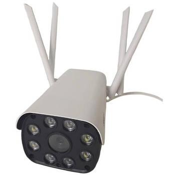 IP камера наружного наблюдения UKC Camera Cad 23D, Wi-Fi, 2 MP, microSD, детектор движения, микрофон, белая