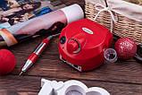Фрезер ZS-601, 45Вт, 35 000 оборотов, красный, фото 6