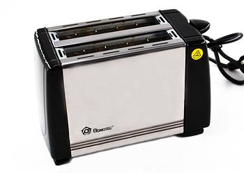 Тостер Domotec MS-3231, серебристый
