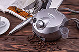 Фрезер ZS-601, 45Вт, 35 000 оборотов, серый/серебро, фото 5