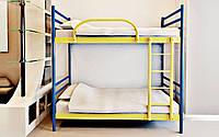 Двухъярусная металлическая кровать Fly Duo (Флай Дуо) Метакам 90х200