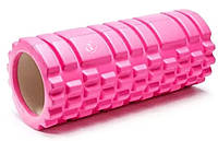 Массажный валик WCG  K1 Роллер Розовый цвет, фото 1