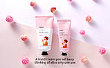 Зволожуючий крем і лосьйон для рук Fascy Moisturize Hand Cream, Peach Lotion, фото 5