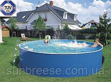 Каркасний басейн AZURO BASIC 2,4х0,9м з картриджним навісним скімером 2000