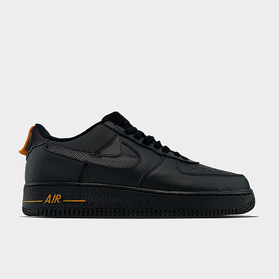 Кроссовки Nike Air Force 1 Low мужские, черного цвета, Найк Аир Форс 41