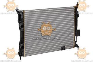 Радіатор охолодження Nissan Qashqai (від 2006р) 1.6 i МКПП, АКПП (пр-во Luzar Росія) ЗЕ 00004107