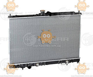 Радиатор охлаждения Outlander 2.0, 2.4 (от 2003г) АКПП, МКПП (размер сердцевины 688*425*16) (Luzar) ЗЕ 26783