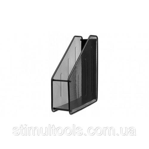 Лоток для бумаги металлический вертикальный Stenson 1 секция (35 см)
