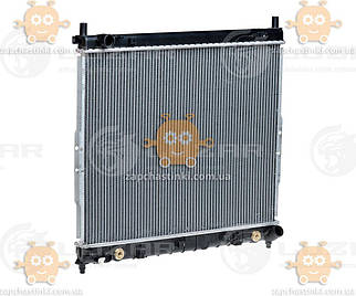 Радіатор охолодження Rexton 2.3, 2.9 (від 2002) АКПП, МКПП (пр-во Luzar Росія) ЗЕ 26797