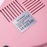 Фрезер ZS-601, 45Вт, 35 000 оборотов, розовый, фото 5