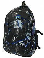 Рюкзак школьный VA R-71-130 Black/Blue