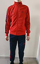 Спортивный костюм Nike эластан красный