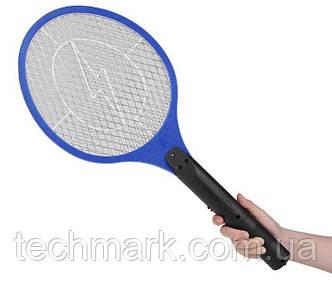Электрическая мухобойка акумоляторнная Rechargeable Mosquito-hitting Swatter (Синий)
