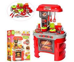 Детская игровая кухня со звуком и светом HLV 008-908А Red