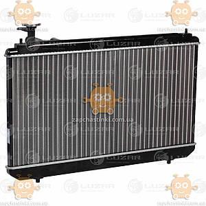 Радіатор охолодження Chery Tiggo (T11) (від 2005р) 2.4 i MT (пр-во Luzar Росія) ЗЕ 25467