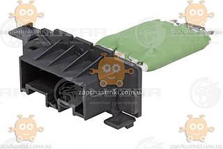 Резистор електровентилятора нагрівника Fiat Ducato (від 2006р), PSA Boxer, Jumper (від 2006р) (Luzar) ЗЕ 20803