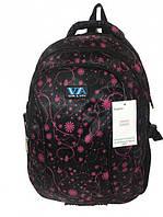 Рюкзак школьный VA R-72-106 Black/Pink