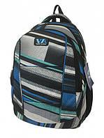 Рюкзак школьный VA R-71-138 Grey/Blue