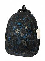Рюкзак школьный VA R-72-136 Black