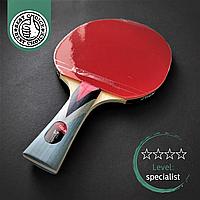 Профессиональная ракетка для настольного тенниса пинг-понга Stiga Original Blade 4 звезды Древесина (STIGA4)