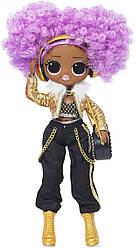 L.O.L. Surprise! O.M.G. 24K D.J. Fashion Doll - 20 Surprises (Леди Диджей), 6+ (574217)