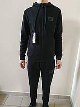 Спортивный костюм nike черный трикотаж