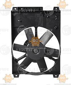 Електровентилятор охолодження з кожухом Fiat, Sollers, Ducato (від 1994р) (пр-во Luzar Росія) ЗЕ 00005319