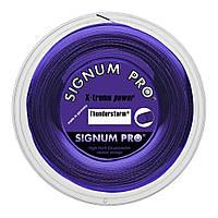 Струни тенісні Signum Pro Thunderstorm 200 м Фіолетовий (1748-0-0)