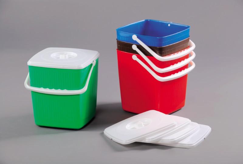 Ведро для мусора 12 л 02001GR