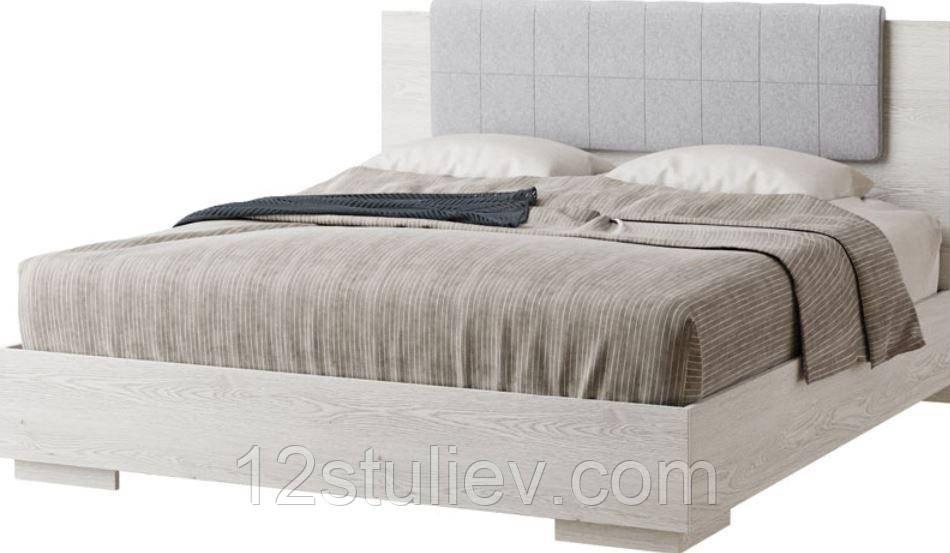 Ліжко 2-сп (1.8) Вівіан СМ Аляска /Моноліт