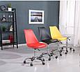 Кресло  Астер, пластик , сиденье с подушкой -  желтый., фото 5