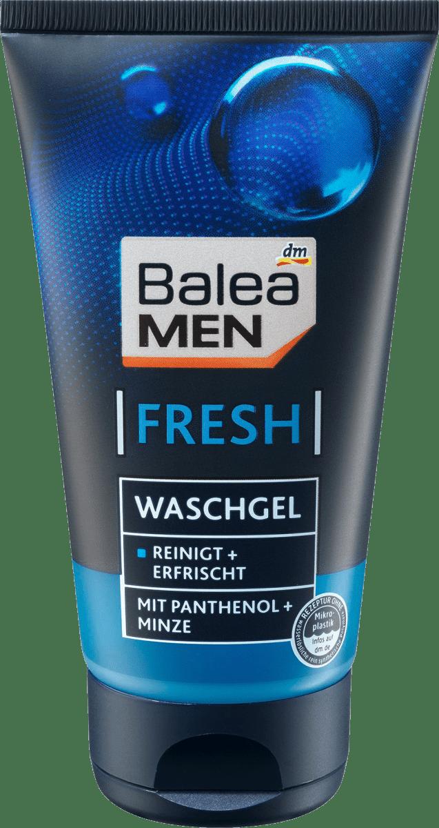 Гель для вмивання обличчя Balea men Waschgel Fresh, 150 мл.