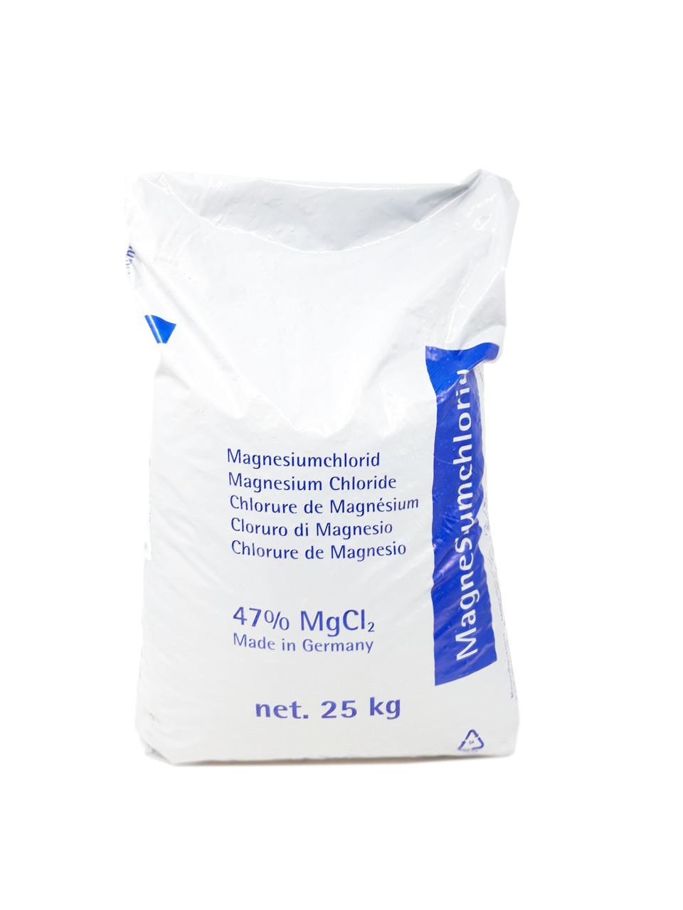 """Магний хлористый """"Ч"""" 25кг Германия хлорид магния"""